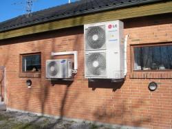 LG luft-vand varmepumpe